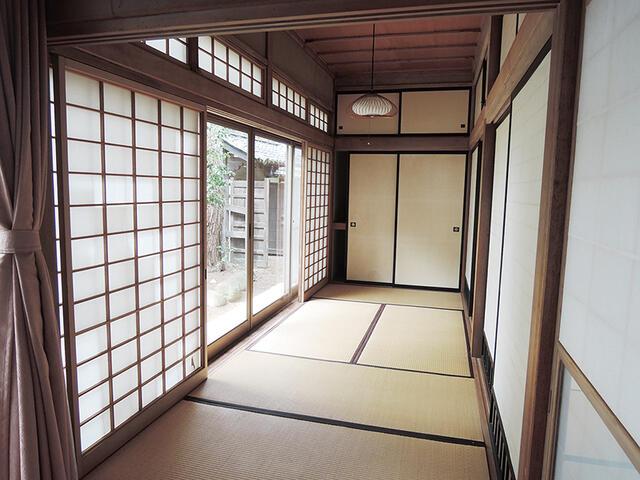 松川村・庭園付中古住宅(住宅・店舗) 和室
