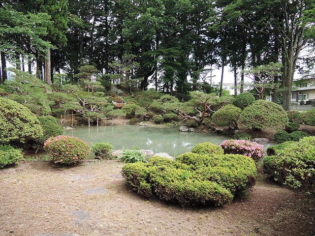 松川村・庭園付中古住宅(住宅・店舗) 庭園 池