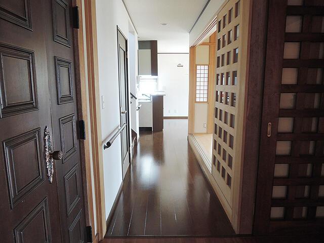 松川村・庭園付中古住宅(住宅・店舗) 廊下
