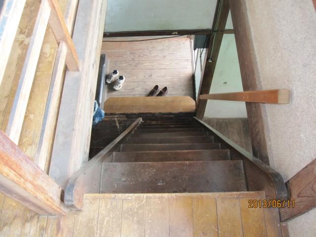 1階←→2階階段