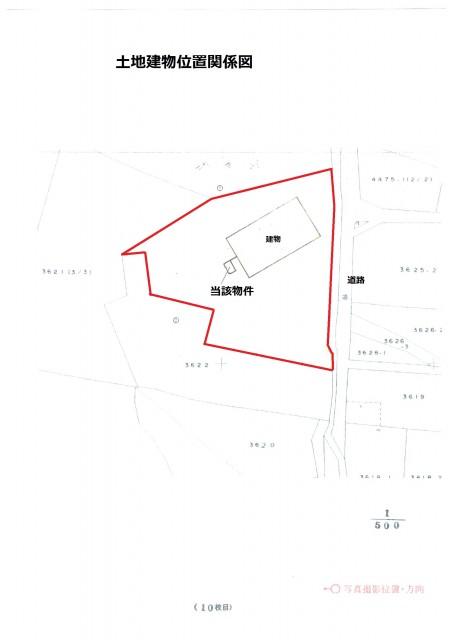 土地建物位置関係図