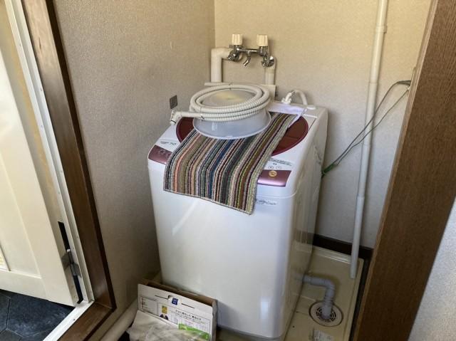 2F 洗濯機置場