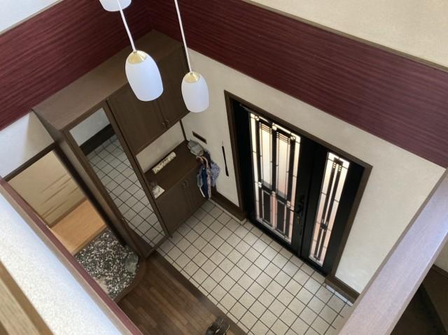 玄関ホール 2Fから
