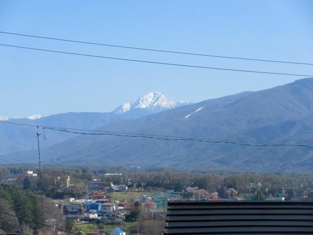 2Fからの甲斐駒ヶ岳の眺望
