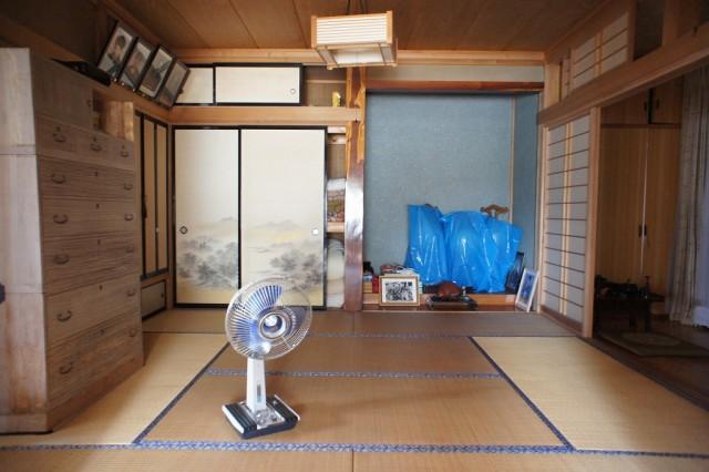 和室8帖②南向きの縁側付きです