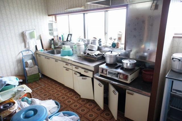 広々キッチンスペース
