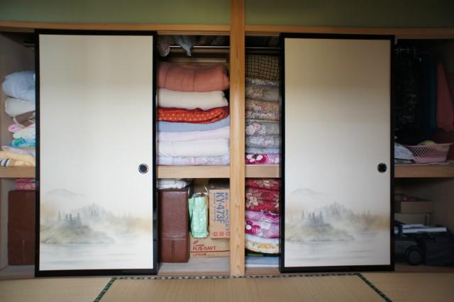 和室の収納スペース