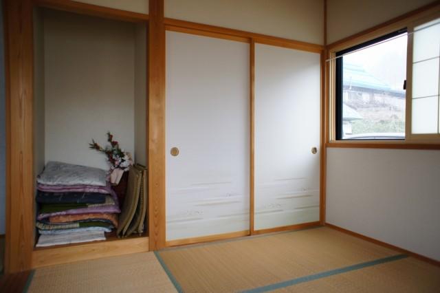 4.5帖和室。  こちらは南東向きです。