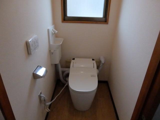2階洗浄式トイレ