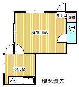 狭いほうの事務所