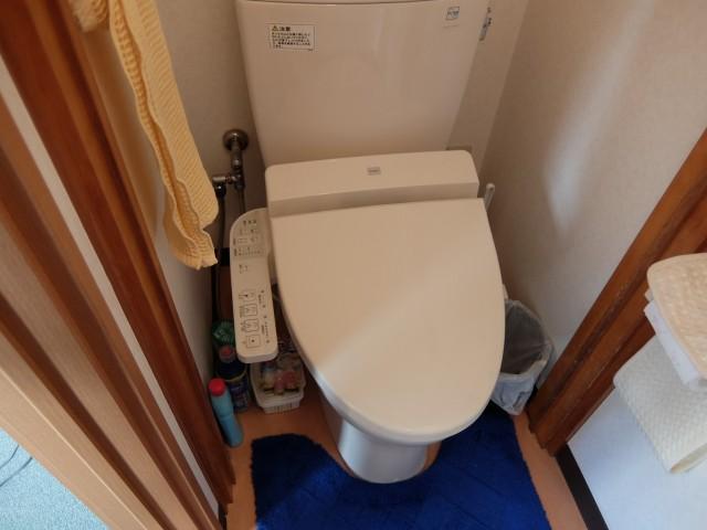 狭いほうの事務所 トイレ