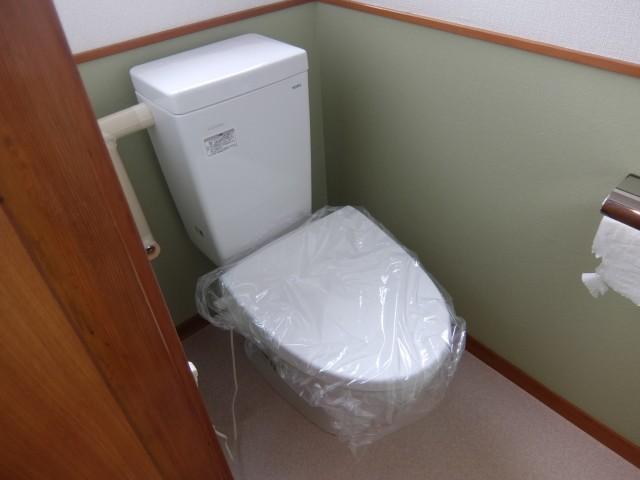 トイレ 便器は新品