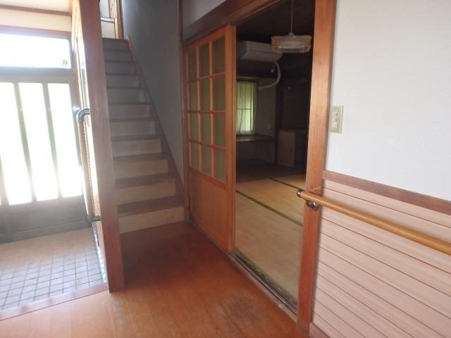 階段(南側)