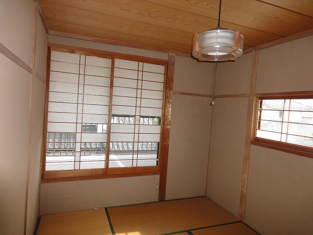 2階西側の和室