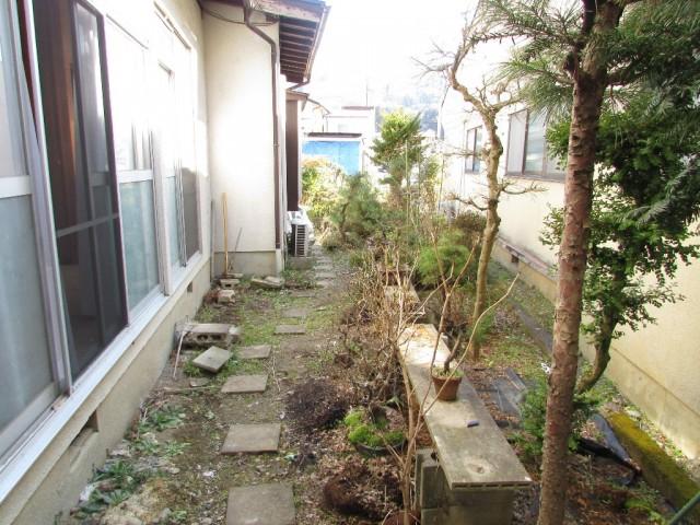 庭(建物西側)