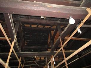2階 蚕室(天井)