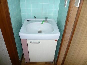 洗面脱衣室(洗面台)
