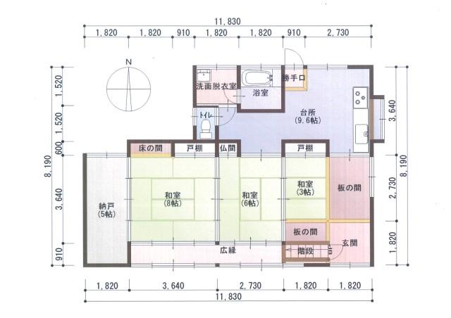 【1階】間取り図