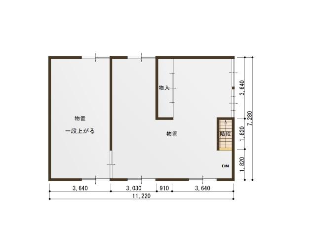 【2階】間取り図