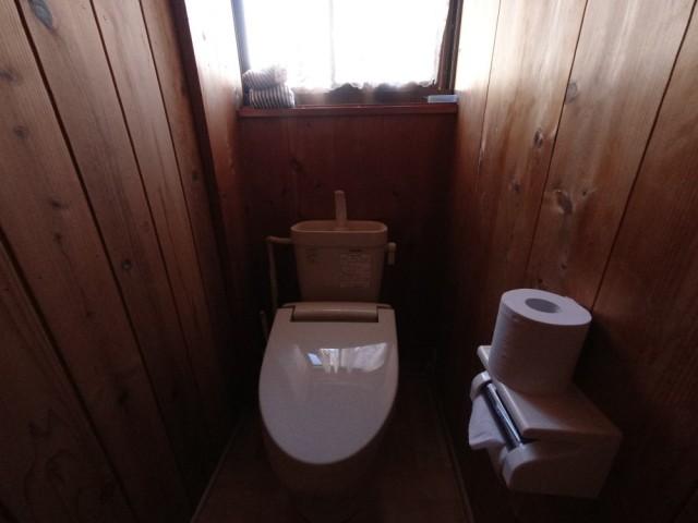 トイレはすべて洋式です。