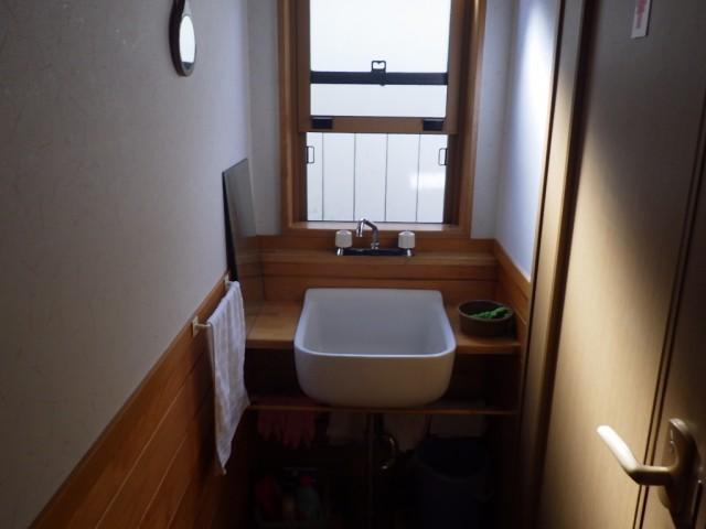 トイレ横洗面台