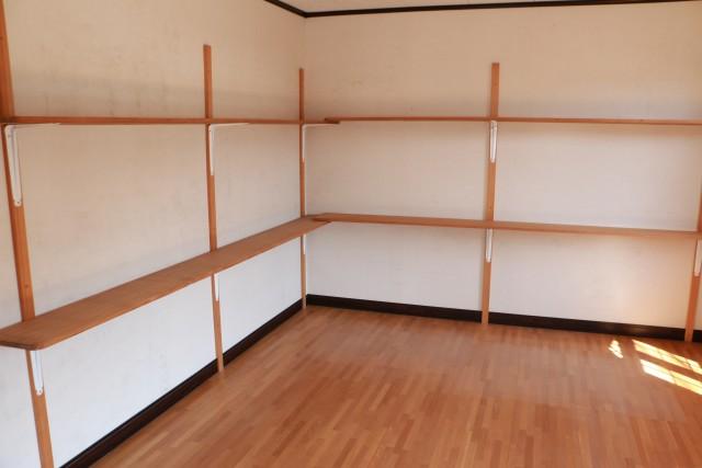 2階倉庫棚