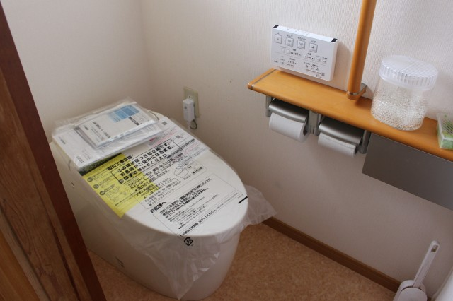 トイレは新品♪