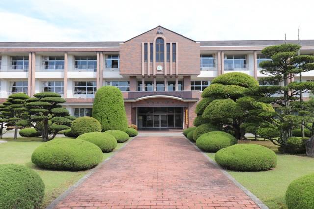 穂高東中学校…1000m